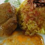 mae rong son chicken Biryani with green chutney