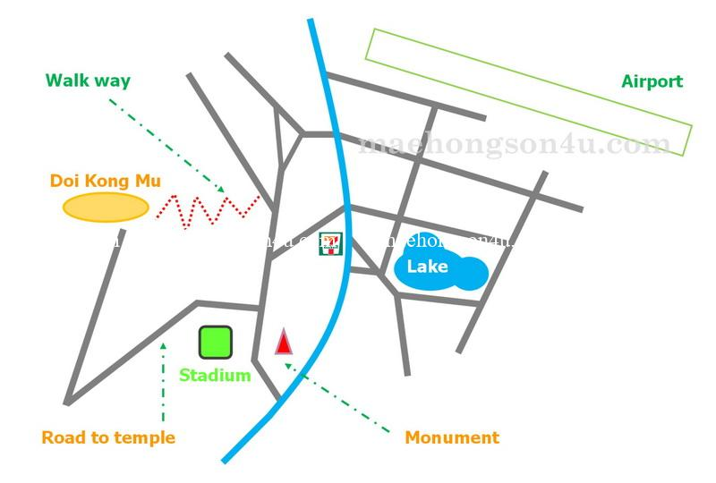 doi kong mu map to get there