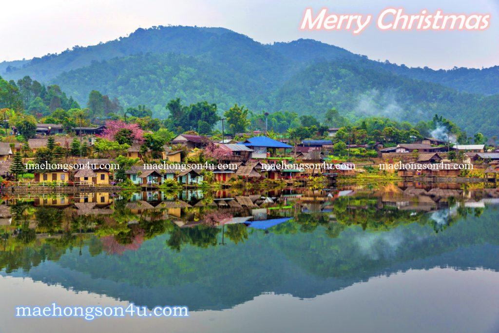 view lake side baan rak thai