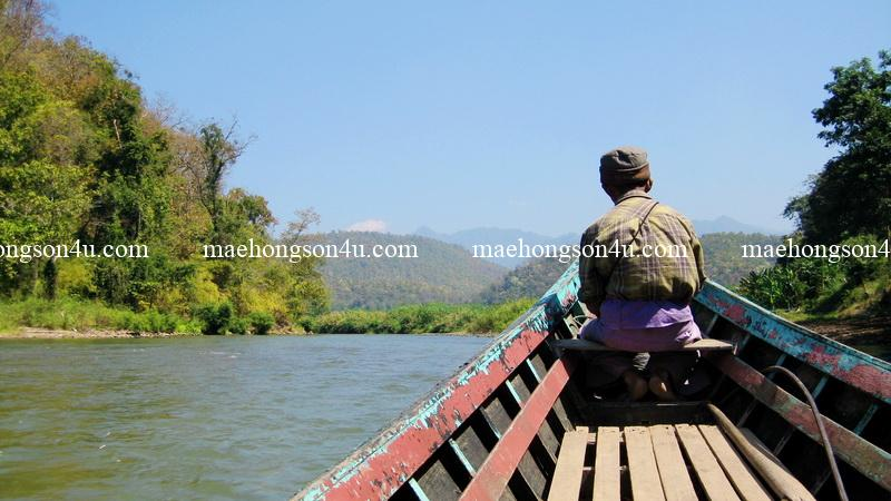 take a boat on pai river